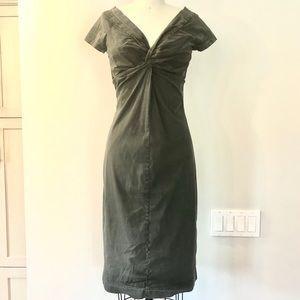 Prada cotton stretch dress